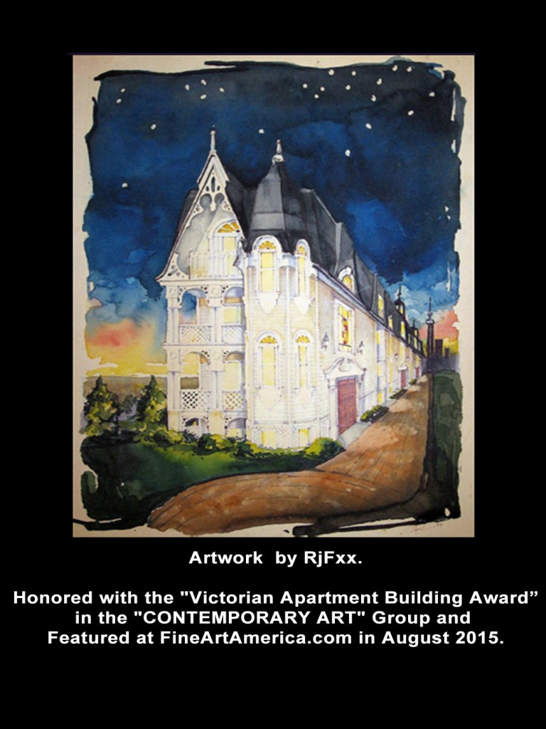 """The Victorian""  a Watercolor by RjF"